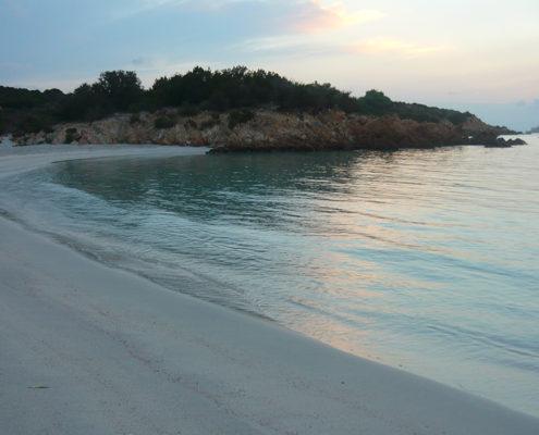 Una spiaggia da principi e principesse