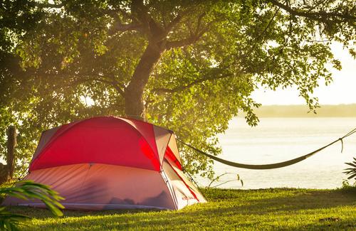 campeggio in estate