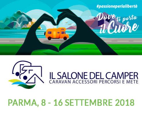 Landosport al salone del Camper Parma 2018