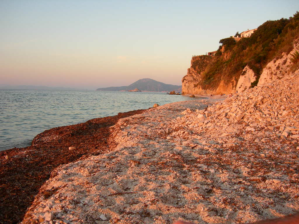 spiaggia di capo bianco isola d'elba