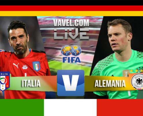 Italia vs Germania 1-1
