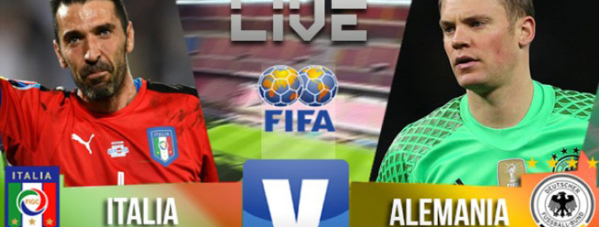 Italia vs Germania 1-1