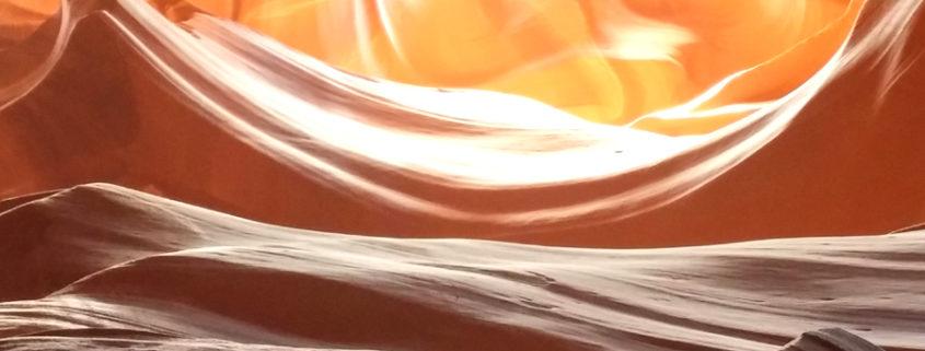Antelope Canyon duecentosessanta metri di meringa al cioccolato