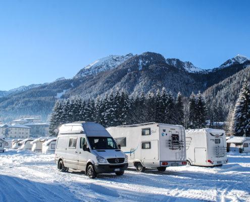 Per non partire impreparati per il campeggio invernale