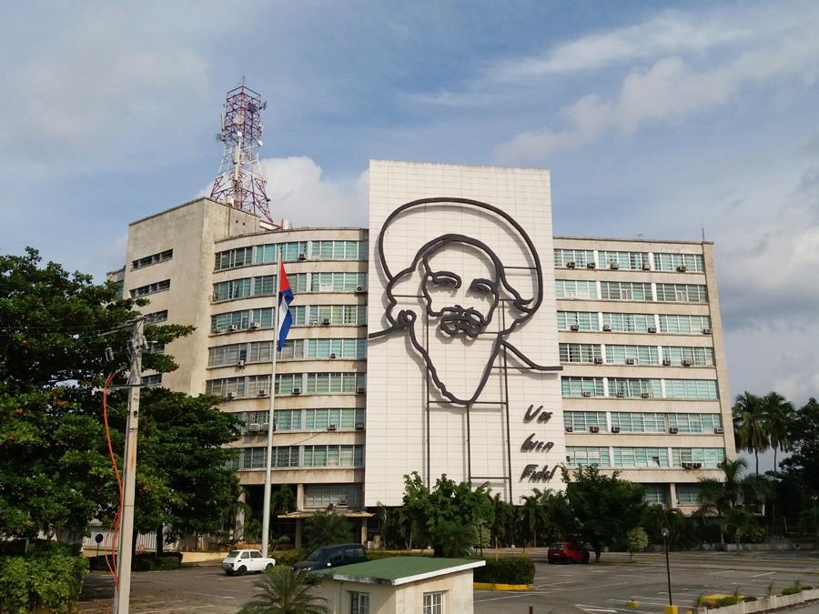 Fidel Castro Plaza de la Revolucion