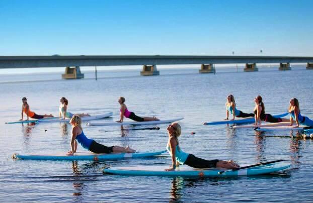 SUP yoga benefici corpo e mente