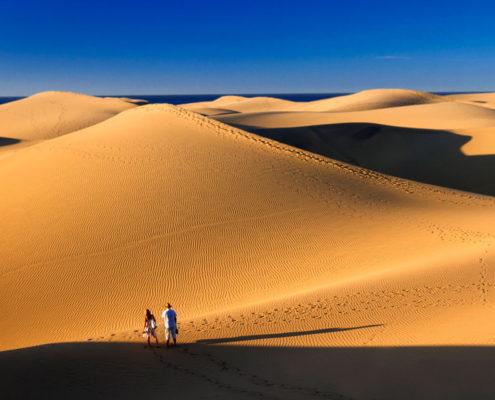 Nel deserto si… ma non siamo nel Sahara ma nel bel mezzo dell'Oceano Atlantico